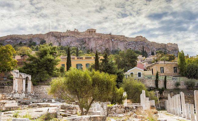 Image of Roman Agora in Athens. Tours by PrivateToursAthens